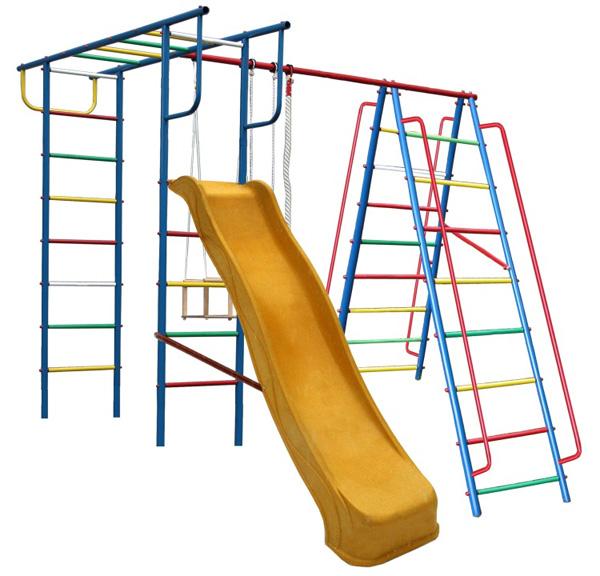 Детская игровая площадка Вертикаль А1+П с горкой