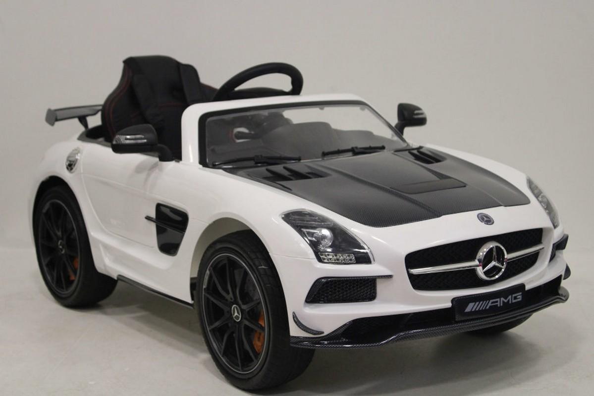 Электромобиль River-Toys Mercedes-Benz SLS Vip Carbon (лицензия)