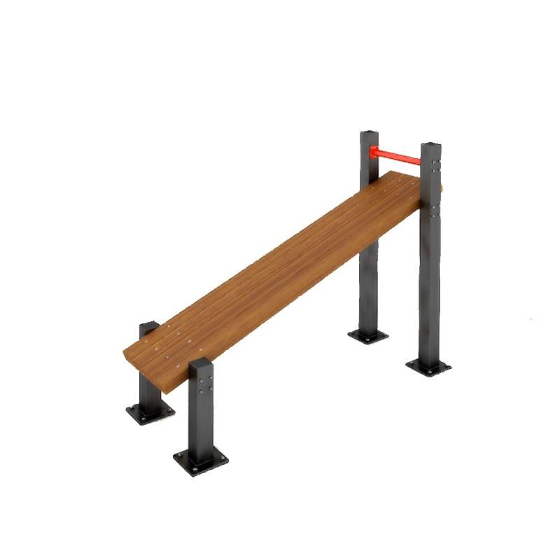 Пресс-скамья наклонная для воркаута Dinamika ZSO-002800,  - купить со скидкой