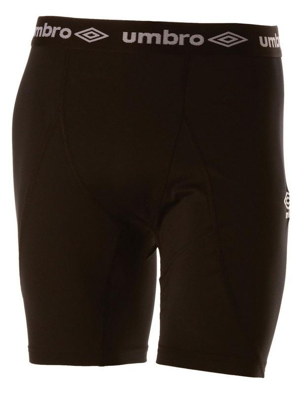 Лосины Umbro Baselayer Short короткие мужские (061) чер/бел.