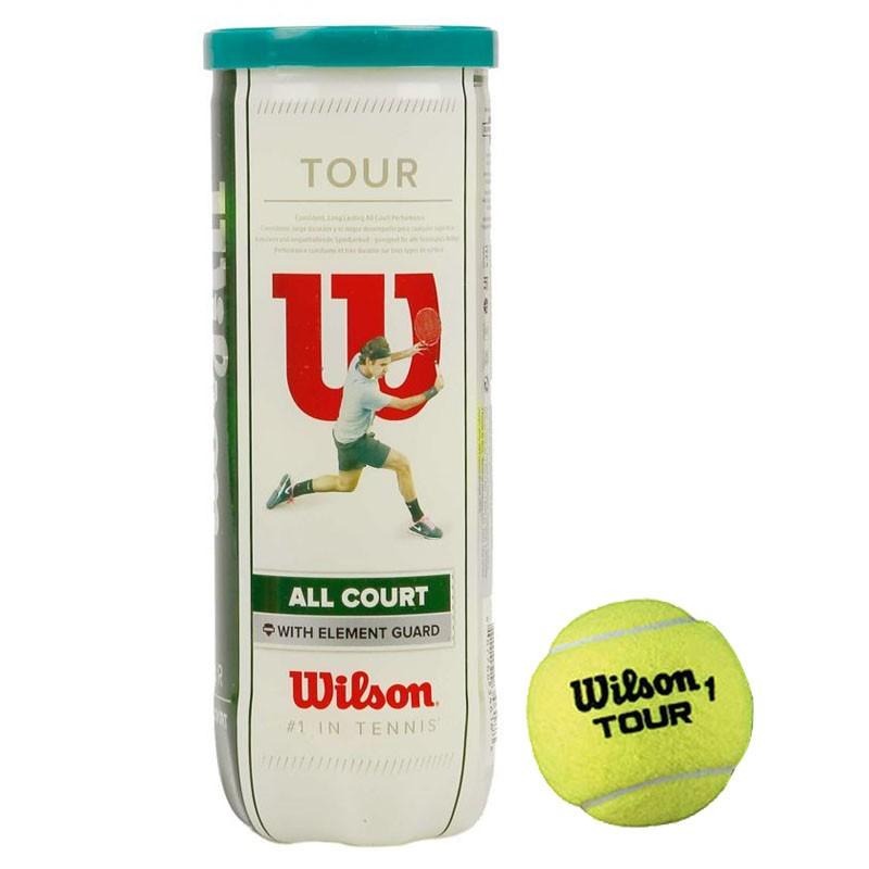 Купить Мячи теннисные Wilson All Court 3B WRT106300,