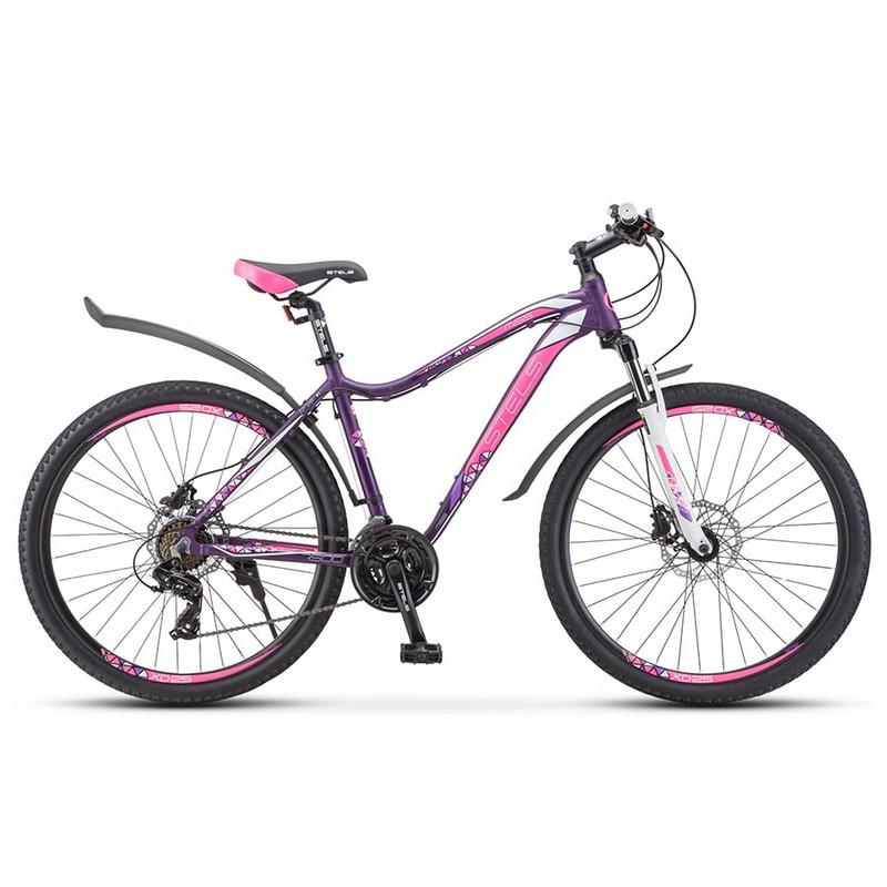 Купить Велосипед Stels Miss-7500 D V010 2020 Темно-пурпурный 27,5Ø (LU093845),
