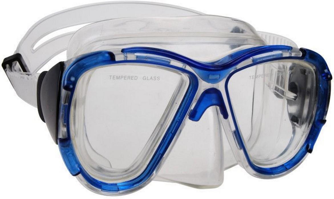 Маска для плавания Wave Youth Diving mask PVC маска Blue M-1311