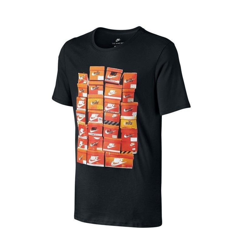 Футболка мужская Nike Sportswear T-shirt 834636-010 черная носки incanto collant носки