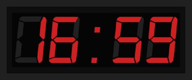 Часы-секундомер со сменным режимом 51х20см от Дом Спорта