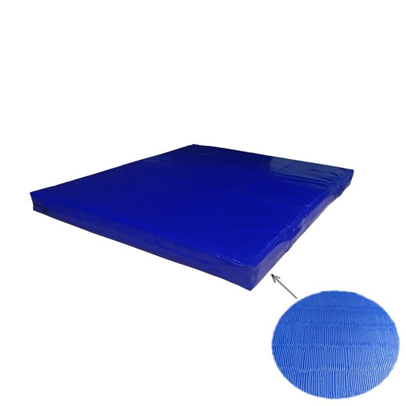 Купить Мат гимнастический 100x100x5 тент-антислип холлофайбер Dinamika ZSO-001348,