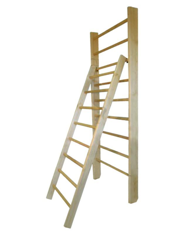Купить Лестница для гимнастической стенки с зацепами Glav длина 1800 мм 04.213-1800,