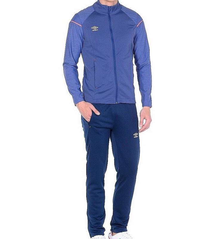 Костюм спортивный Umbro Medusae Knit Suit мужской 64045U (DVS) син/т.син/красн.