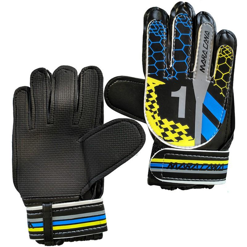 Купить Перчатки вратарские C28831-3 Желтый, NoBrand