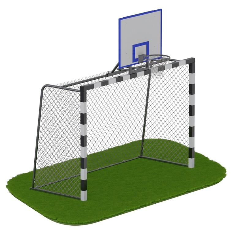 Купить Ворота для минифутбола + стойка баскетбола ARMS ARMS080.1,