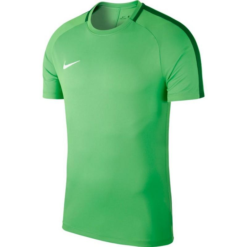 Футболка детская Nike Dry Acdmy18 Top Ss Jr 893750-361 тренировочная, зеленая