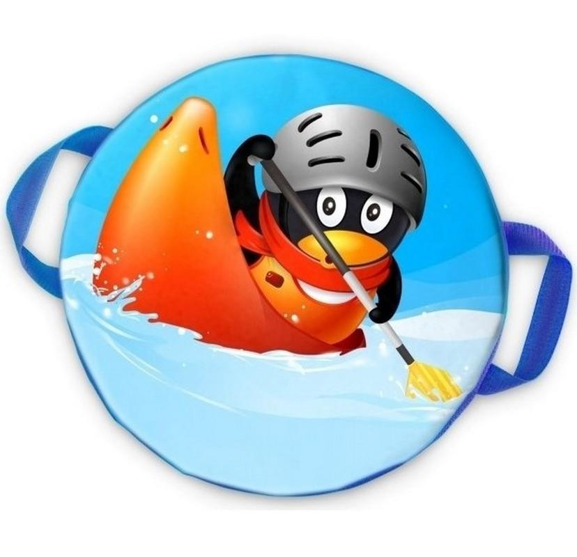 Ледянка мягкая круглая ComboSport D=40 см Пингвин чемпион