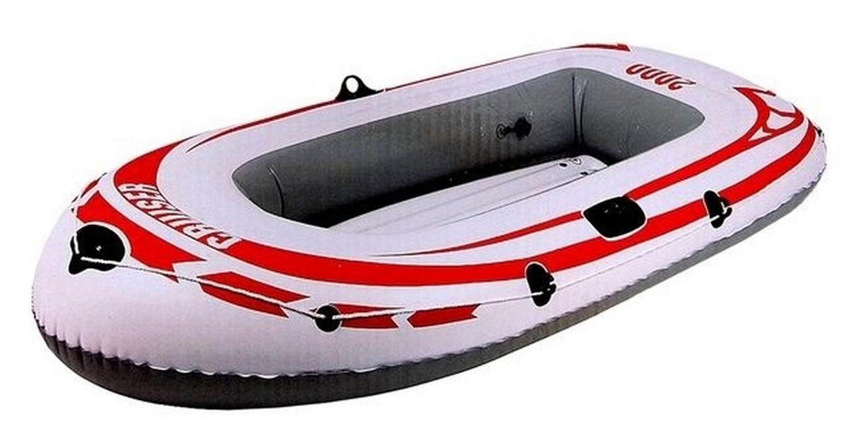 Лодка надувная Jilong Cruiser Boat Cb2000 218x110x36см Серый 07008-3