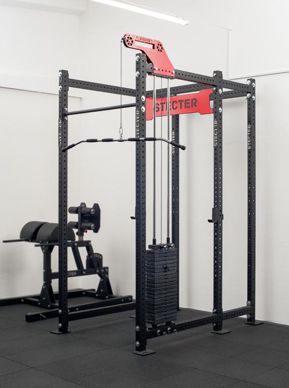 Купить Блочный модуль Stecter Верхняя тяга для силовой стойки (вес стека 100 кг) 2547,