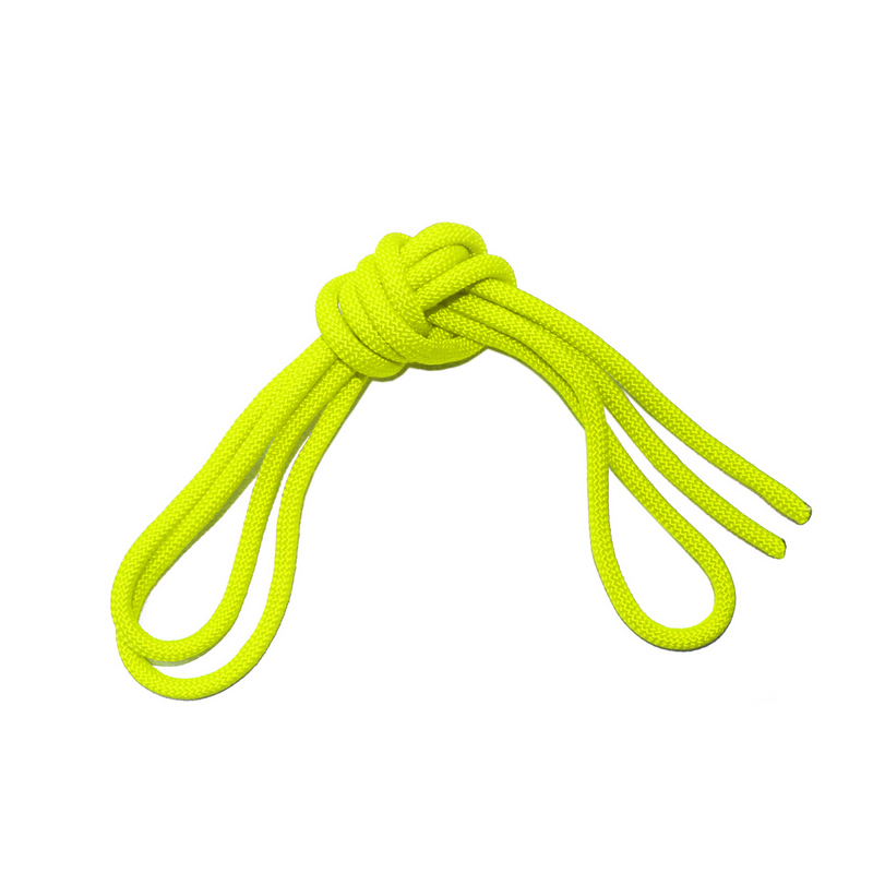 Скакалка гимнастическая с люрексом Body Form BF-SK03 (BF-JRGL01) 2.5м, 150гр. (лимонный)