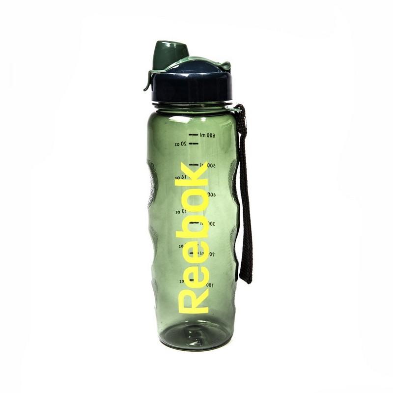 Бутылка для воды Reebok 0,75 RABT-P75GNREBOK, зеленая бутылка reebok reebok re160duuow37