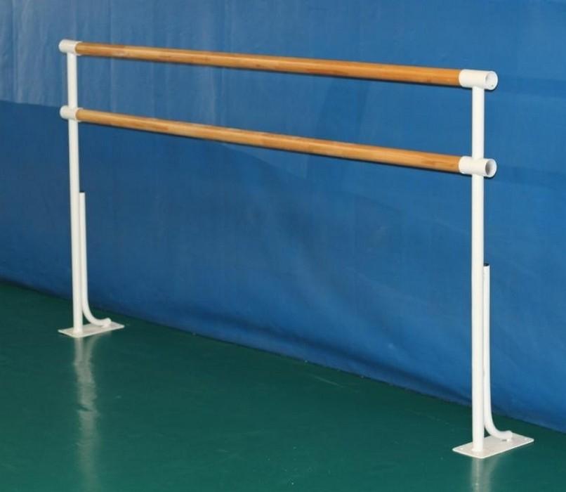 Купить Станок хореографический Atlet напольный двурядный (2,0 м) поручень - фибергласс IMP-A442,