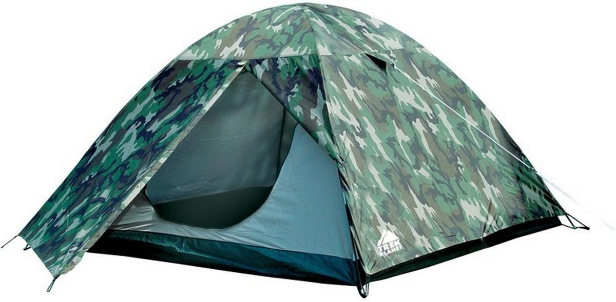 Палатка Trek Planet Alaska 4 камуфляж 70163