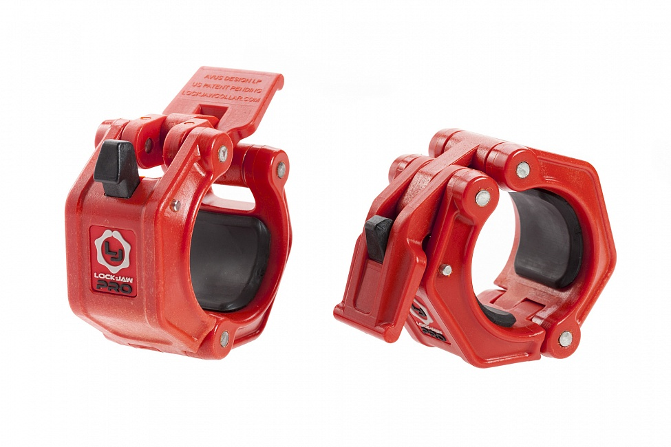 Купить Замки для штанги YouSteel Lock-Jaw Pro 2 (красный),