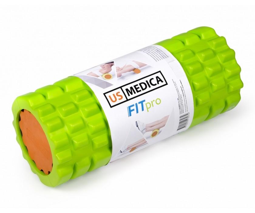 Спортивный валик US Medica Fit PRO (салатовый) 20bbbf2ad6d