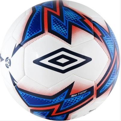 Мяч футбольный любительский р.4 Umbro Neo Trainer 20877U-FCX мяч футбольный select talento арт 811008 005 р 3