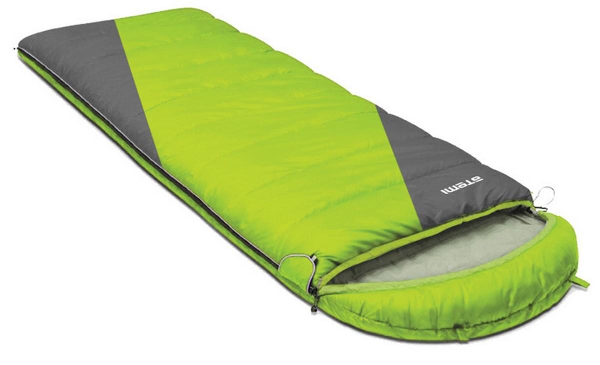 Спальный мешок туристический Atemi 300 г/м2, -3 С, righ Quilt 300R