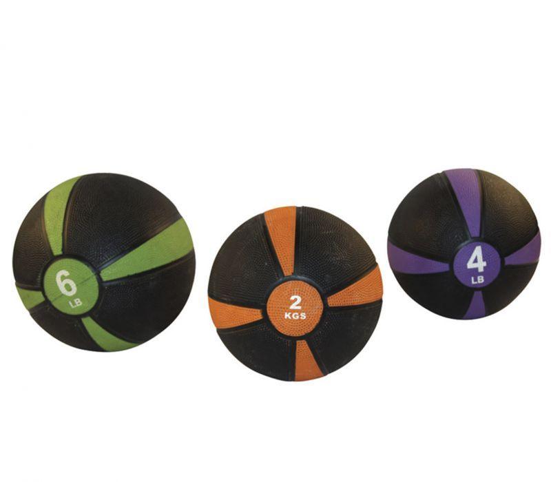 Купить Медицинский мяч Fitex 5 кг, черный с красный Pro FTX-1212-5kg,