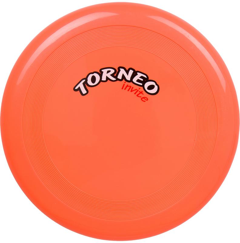 Летающая тарелка, 23 см, оранжевая Torneo TRN-F006O от Дом Спорта
