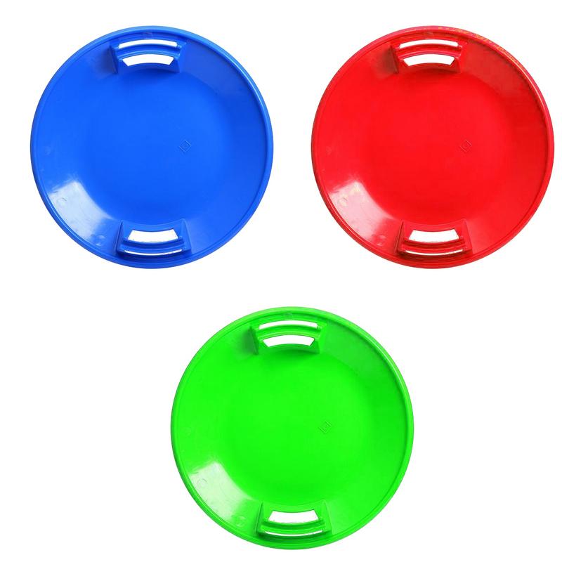 Санки-ледянки У744 круглые d54 см (цвета в ассортименте)