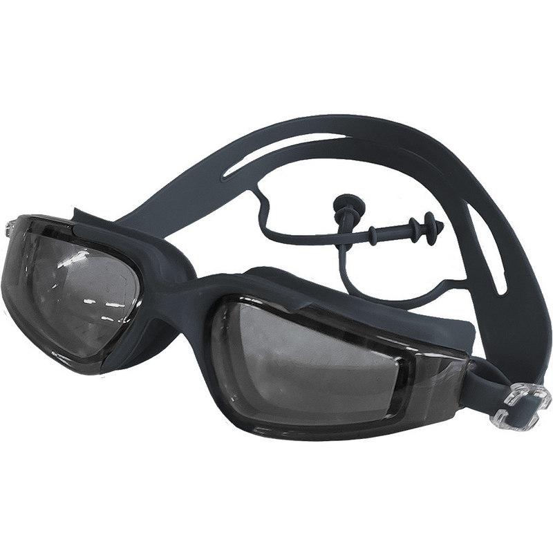Купить Очки для плавания взрослые B31568 (черные), NoBrand
