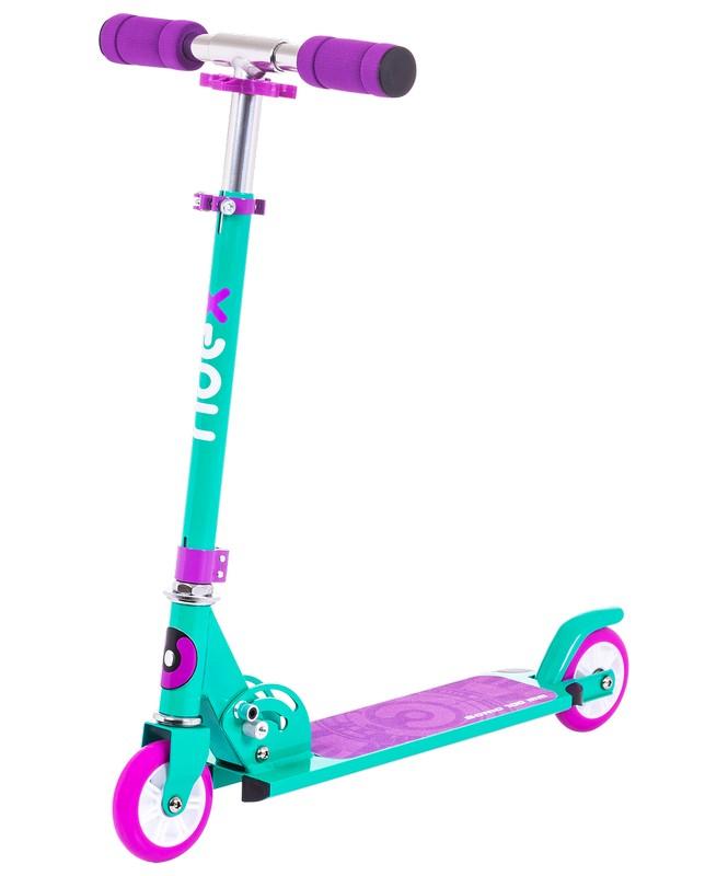 Купить Самокат 2-х колесный Ridex Sonic 100 мм, фиолетовый,