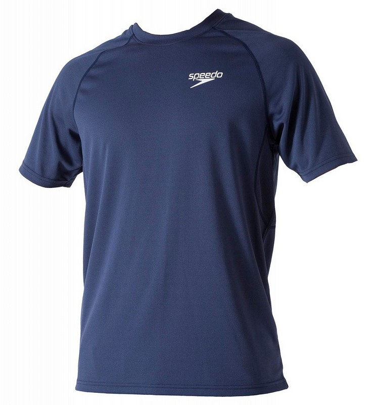 Футболка Speedo Signature Unisex technical T-shirt (102) т.синяя
