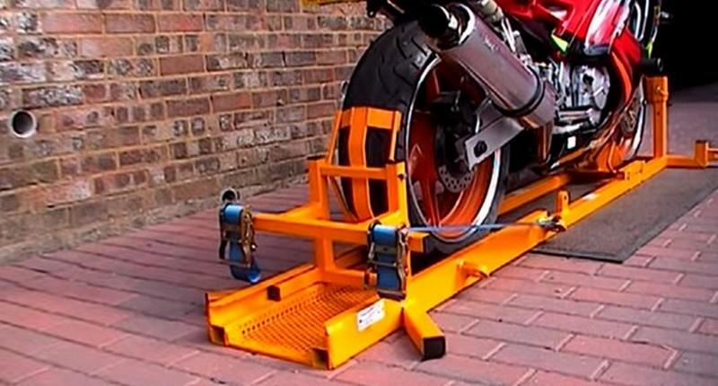 Устройство для перевозки мотоцикла Hercules 4351 pro strider