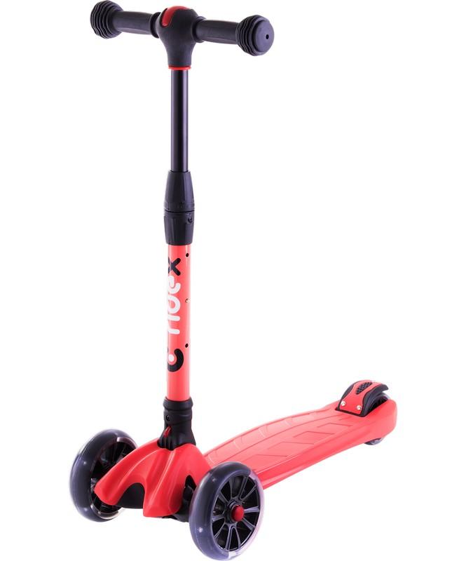 Купить Самокат 3-х колесный Ridex Stark 3D 135/90 мм, красный,