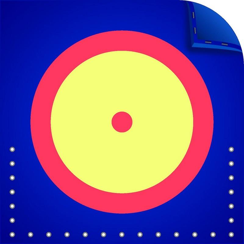 Ковёр борцовский Стандарт 12х12х0,04м, пл.160кг/м3 (ПВХ-Корея, трёхцветный) Спортивные Технологии ковёр борцовский atlet 12х12 м основа ппэ нпэ экв пвв 140 кг м3 толщина 5 см imp a457