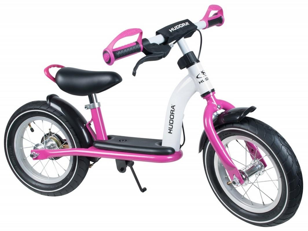 Беговел Hudora Laufrad Cruiser Girl Alu 12 Pink