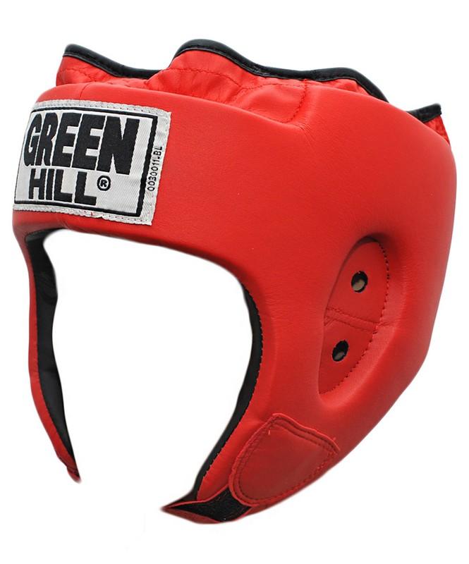 Шлем открытый Green Hill Special красный green hill шлем green hill headgear