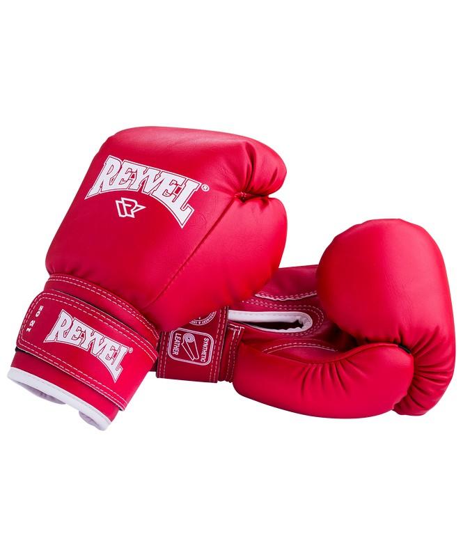 Купить Перчатки боксерские Reyvel RV-101, 6oz, к/з, красный,