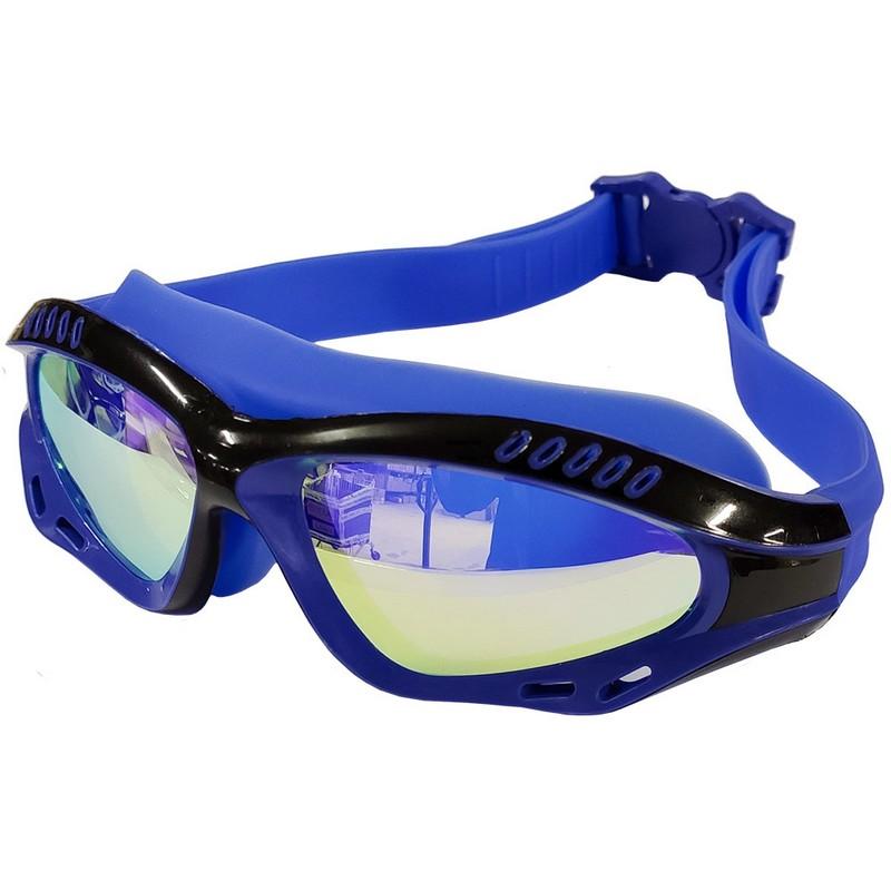 Купить Очки для плавания полу-маска B31540-0 Синечерный, NoBrand