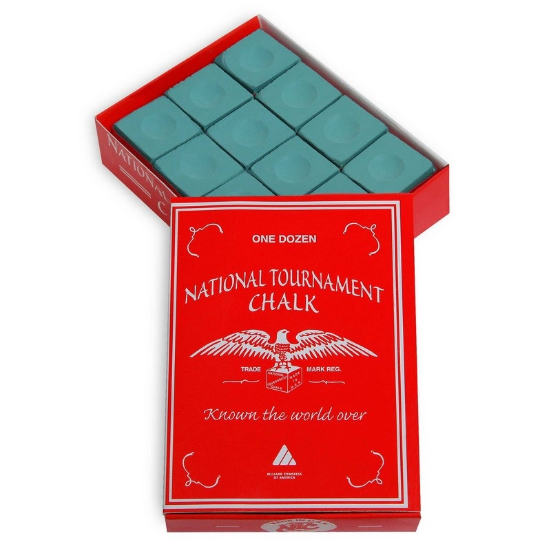 Купить Мел Silver Cup National Tournament Chalk 12шт 07598 Green,