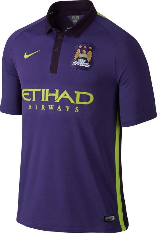 Футболка-поло Nike FC Manchester City FLD Stadium 631208-547 фиолетовая