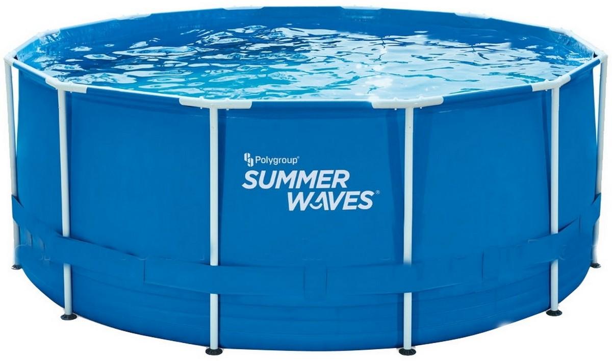 Купить Каркасный бассейн круглый 365х132см SummerWaves P2001252Z,
