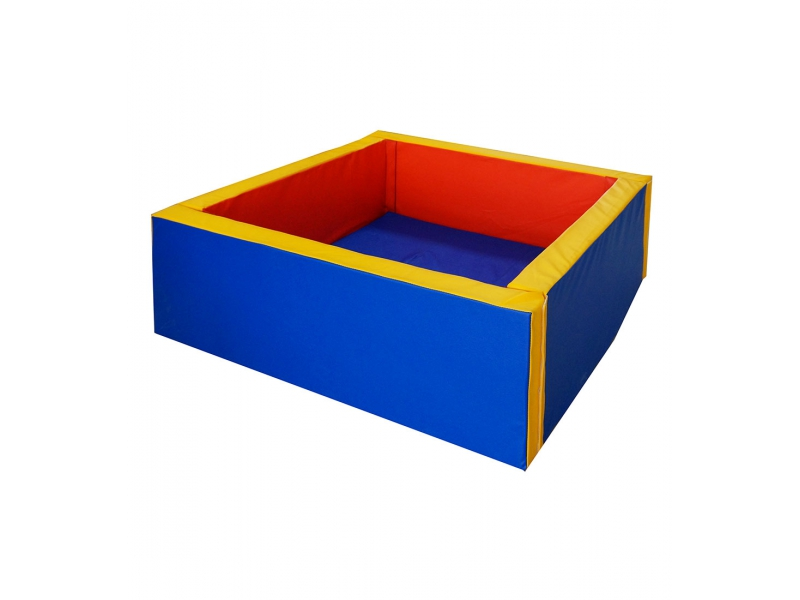 Сухой бассейн квадратный 1200х1200х400мм (мягкое дно 50мм) Формула здоровья СБ-1