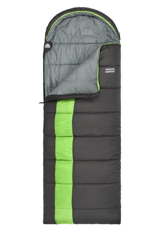 Спальный мешок Trek Planet Dreamer Comfort серый/зеленый 70387-L