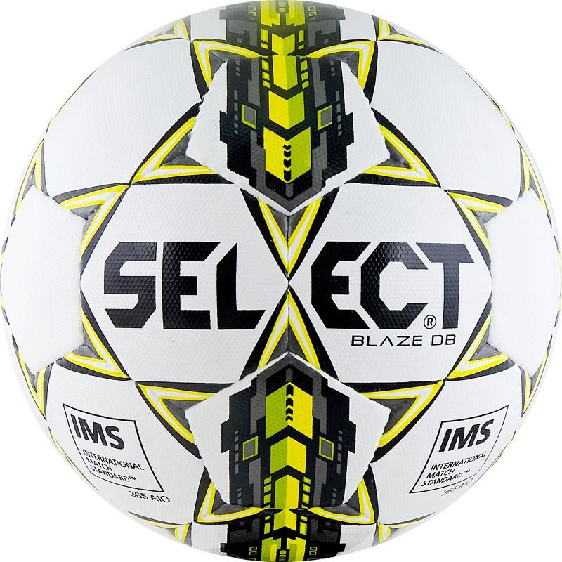 Мяч футбольный Select Blaze DB матчевый, сертификат IMS, 815117-004 р.5 мяч футзальный select futsal talento 11 852616 049 р 3