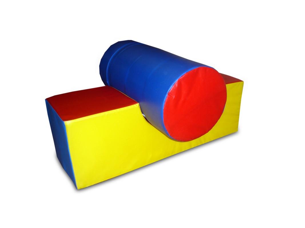 Подставка под цилиндр ФСИ 60х60х30 см, r15 см, 4209, Мягкие модули  - купить со скидкой