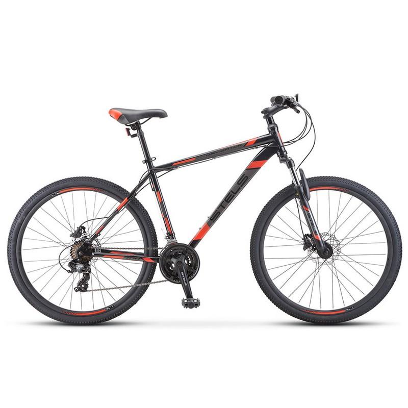 Купить Велосипед Stels Navigator 700 D F010 2020 ЧёрныйКрасный 27.5Ø (LU093938),
