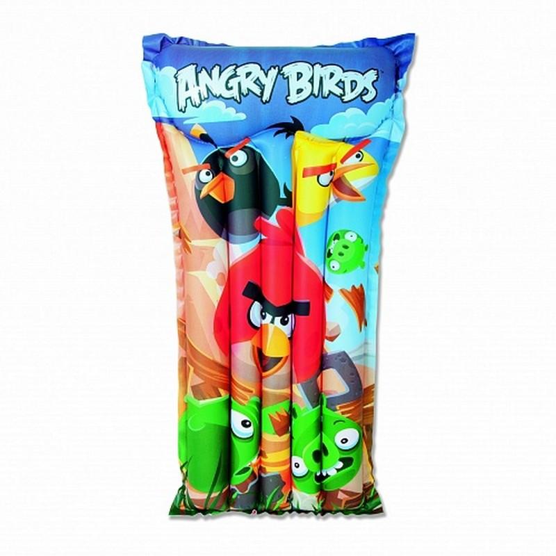 Матрац надувной Bestway Angry Birds 96104