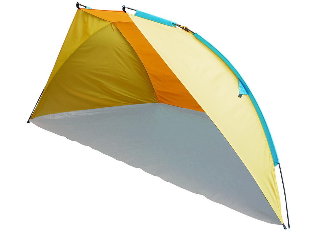 Тент пляжный Trek Planet 70873 Caribbean Beach, желтый/оранжевый