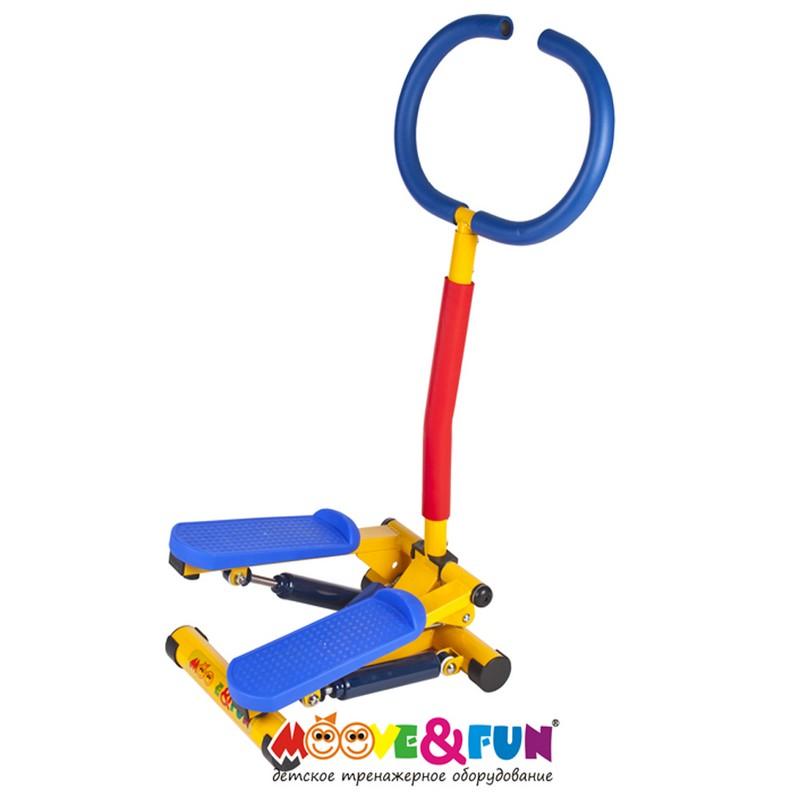 Купить Тренажер детский механический Moove Fun Степпер с монитором SH-10C, Детские тренажеры